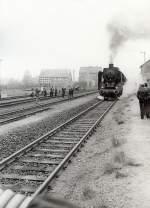 dmv-sonderzug/127732/einfahrt-langenleuba-oberhain-um-1986 Einfahrt Langenleuba-Oberhain um 1986