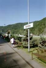 schona/121376/bhf-schoena-im-elbtal-um-2004 Bhf Schöna im Elbtal, um 2004