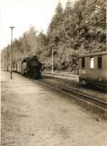 vor dem Hochwasser/78731/einfahrt-in-den-bhf-kipsdorf-dr Einfahrt in den Bhf Kipsdorf, DR vor 1989