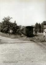 vor dem Hochwasser/78740/zug-richtung-dippoldiswalde-in-obercarsdorf-vor Zug Richtung Dippoldiswalde in Obercarsdorf, vor 1989