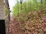 Strecke Muskau/86062/unterwegs-auf-dem-muskauer-streckenast-april Unterwegs auf dem Muskauer Streckenast, April 2006