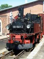 jubilaum/76271/99-1561-am-heizhaus-in-muegeln 99 1561 am Heizhaus in Mügeln, Jubiläum 2010