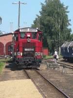 jubilaum/76595/dieselzug-hat-den-bhf-muegeln-erreicht Dieselzug hat den Bhf Mügeln erreicht, Juni 2010