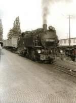 guterverkehr/76740/gueterzug-mit-rollwagen-in-zittau Güterzug mit Rollwagen in Zittau