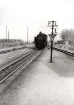 Bhf Bertsdorf/113088/einfahrt-in-den-bahnhof-bertsdorf-vor Einfahrt in den Bahnhof Bertsdorf, vor 1989