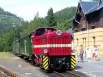 Bhf Kurort Oybin/120850/dieselzug-in-oybin Dieselzug in Oybin