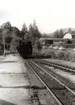Bhf Kurort Oybin/77431/am-ende-der-strecke-in-kurort Am Ende der Strecke in Kurort Oybin, vor 1989
