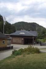 Bhf Kurort Oybin/83158/blick-zum-bhf-kurort-oybin-um Blick zum Bhf Kurort Oybin, um 2003