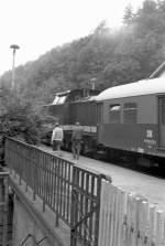 Dampfsonderfahrten/80071/planzug-auf-der-elstertalbahn-um-1984 Planzug auf der Elstertalbahn, um 1984