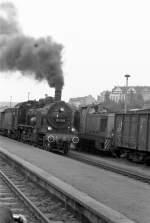 Dampfsonderfahrten/80149/begegnung-in-plauen-unterer-bahnhof-1984 Begegnung in Plauen, unterer Bahnhof 1984
